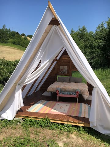 Viking Glamping @Verdmont Unesco world heritage