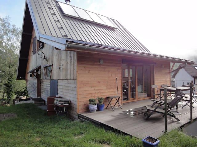 Chalet moderne idéal calme et randonnée - Montchaboud - Casa