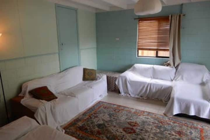Private room in spacious apartment, best location!