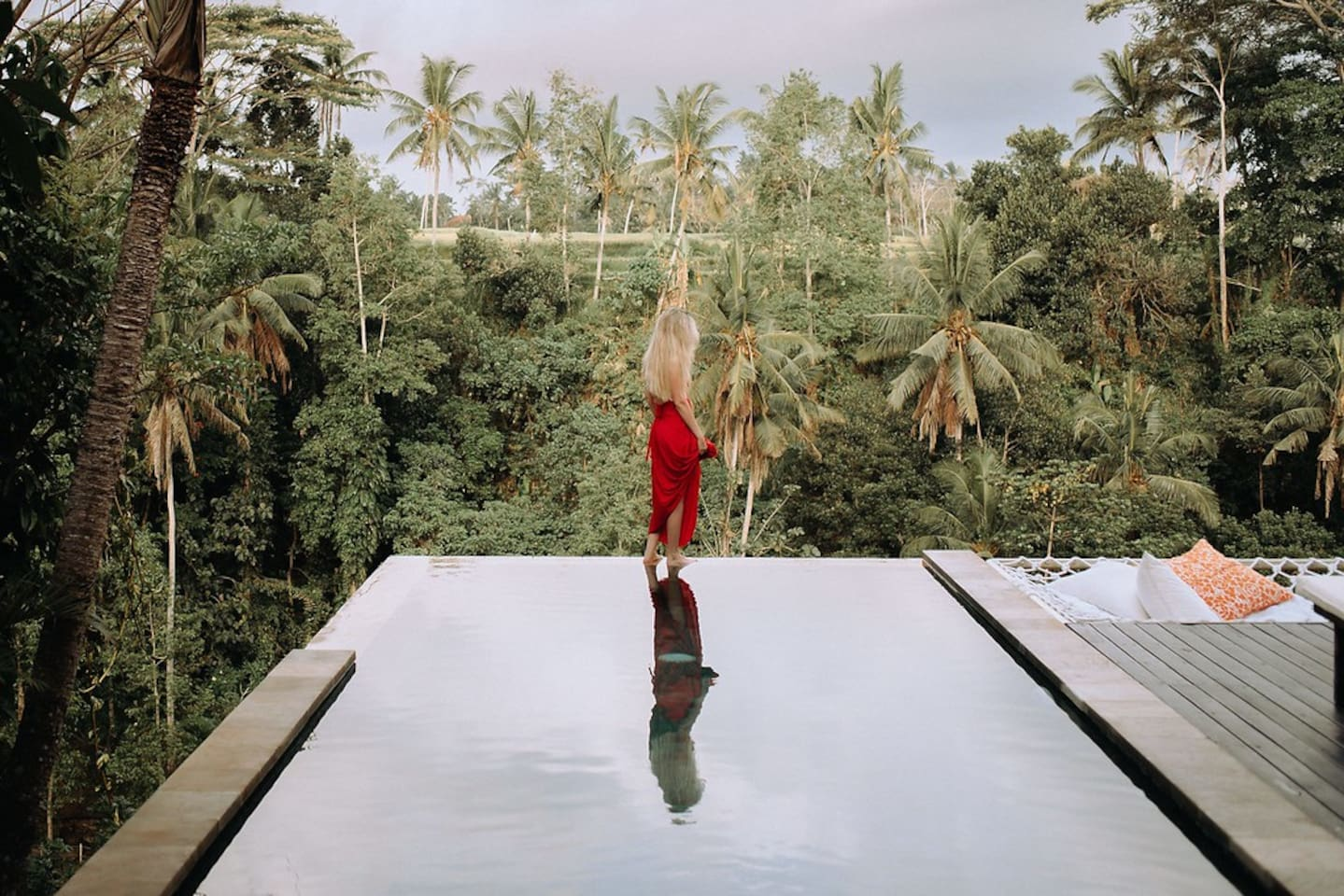"""""""The View: OMG Astonishing. The moment you walk into the villa you can't believe what you see: Jungle, Rice Fields, Temple, River, Waterfalls... this villa has it all."""" Guest on-line Airbnb review, Anna, Moscow, Russia. September 2018."""