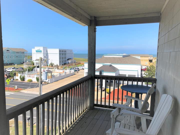 Sunburst Ocean View Condo @ Nags Head Beach