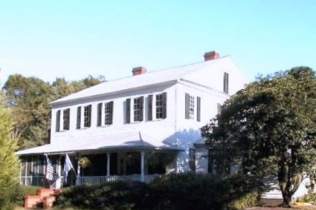Enoch Hanford House/now known as Crazy Blessed Farm