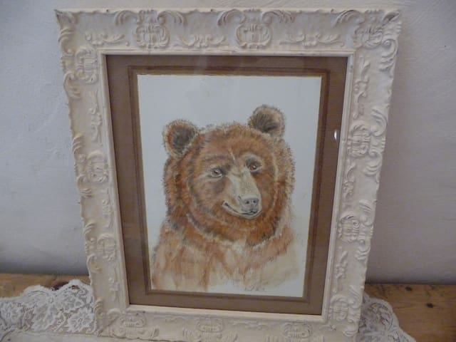 """détail de la chambre""""ours"""""""