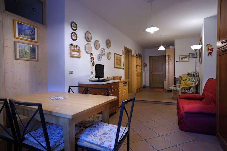 Silvagni House, Val di Fiemme-Dolomiti/Trentino - Predazzo - Apartamento