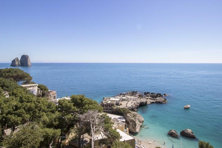 Casa Capri a pochi passi dal  mare