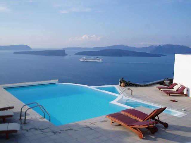 See Santorini Akrotiri Sea view 6 - Santorini - Wohnung