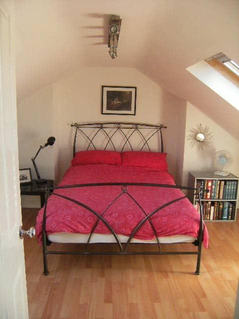 Lovely light attic room