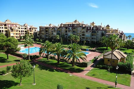 Beach ap. with gardens and pools - Ayamonte - Apartment