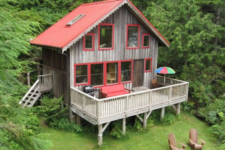 Ocean Dream Waterfront Cabin Tofino