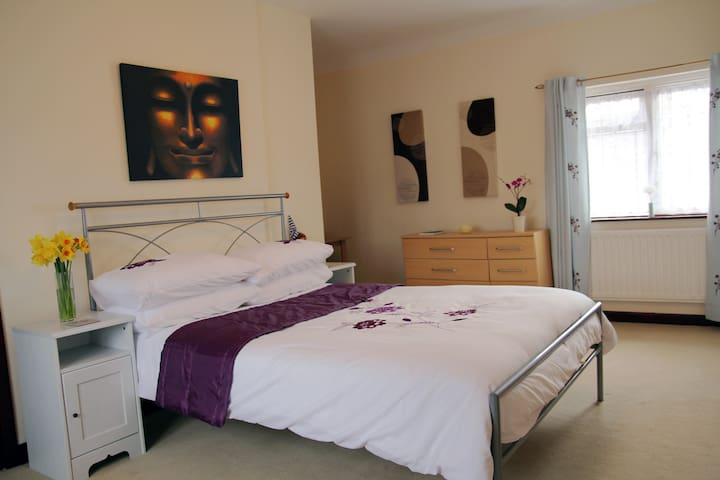 Huge, spacious double room - Bristol - House