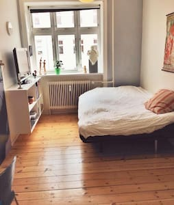 Room in the trendy Nørrebro - Kodaň - Byt