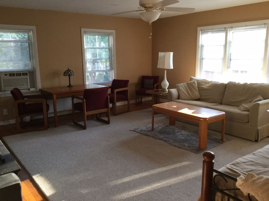 Living room is common area if not rented