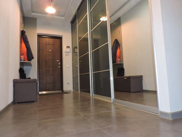 Cozy designer apartment in a quiet area of Kyiv