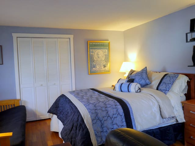 Serene Room in Amherst home - Amherst - Casa