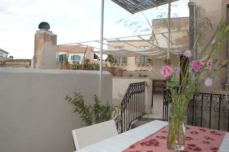 appartamento con terrazza sui tetti - Flat