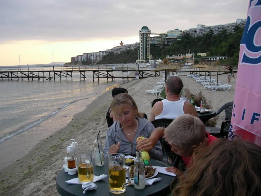 Our non public Beach called Paradise Beach