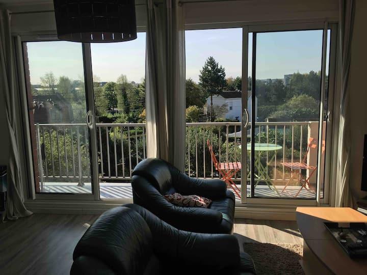 Appartement vivant et naturel, à 10min du centre -