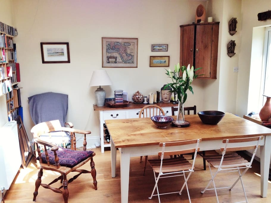 The kitchen table - the heart of the house