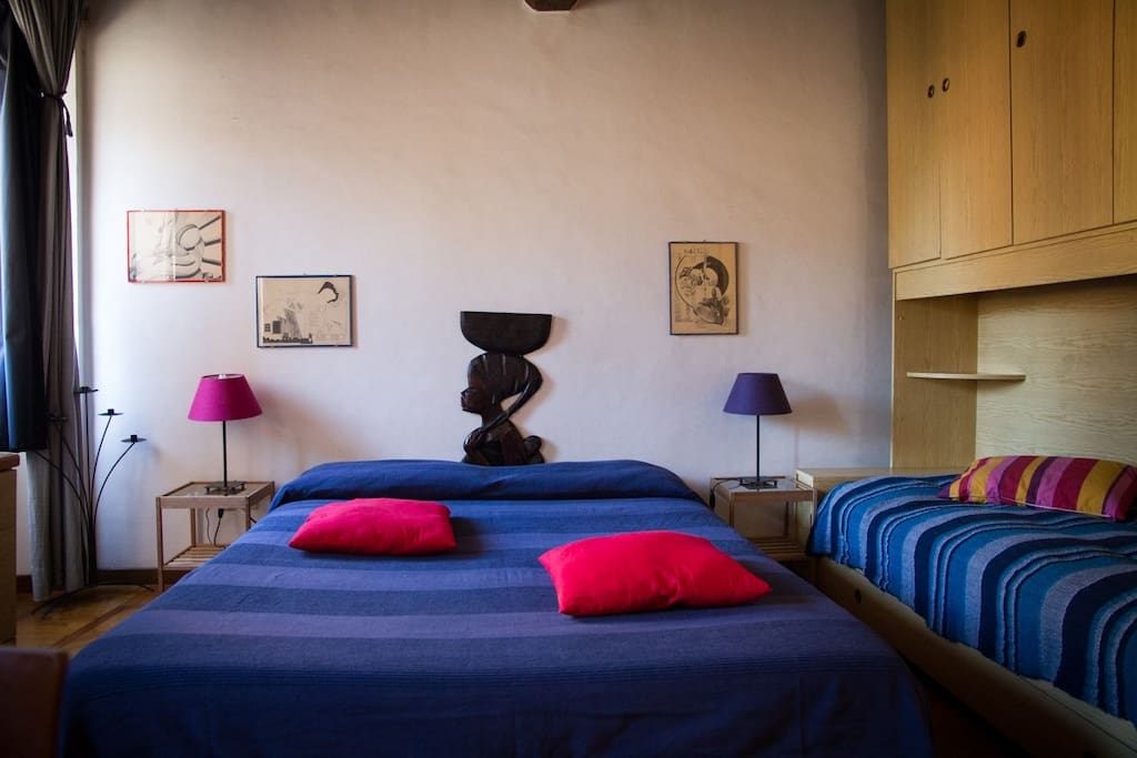 Large room in magic trastevere appartamenti in affitto a for Affitto uffici roma trastevere