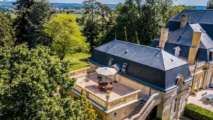 Suite au château Rauly avec Terrasse privative