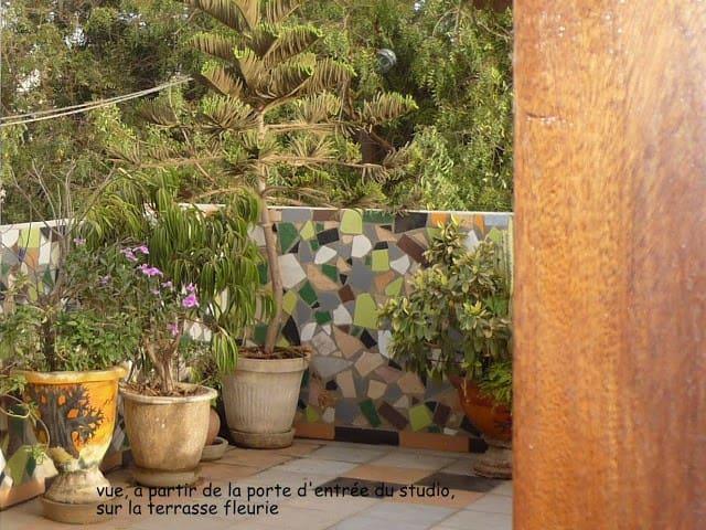 """Studio écologique """"Le Soleil Couchant"""""""