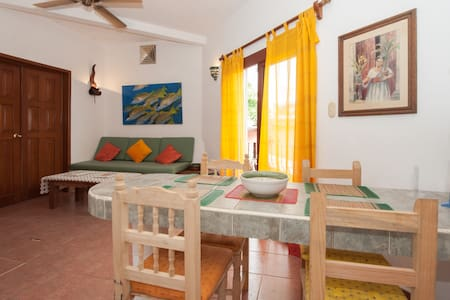 75usd for 3 pax/2 blocks from beach