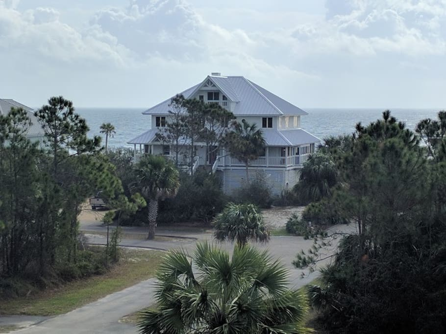 Gulf View From House