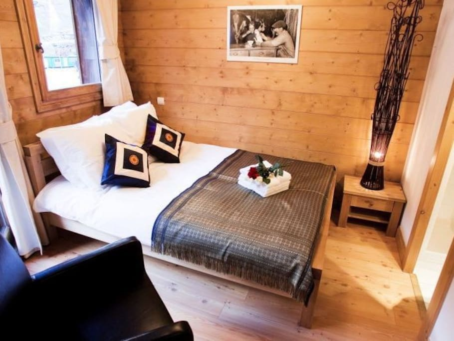 Double bedroom ensuite on the ground floor