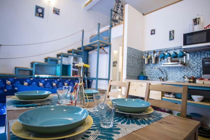 Nonni's house (blu)