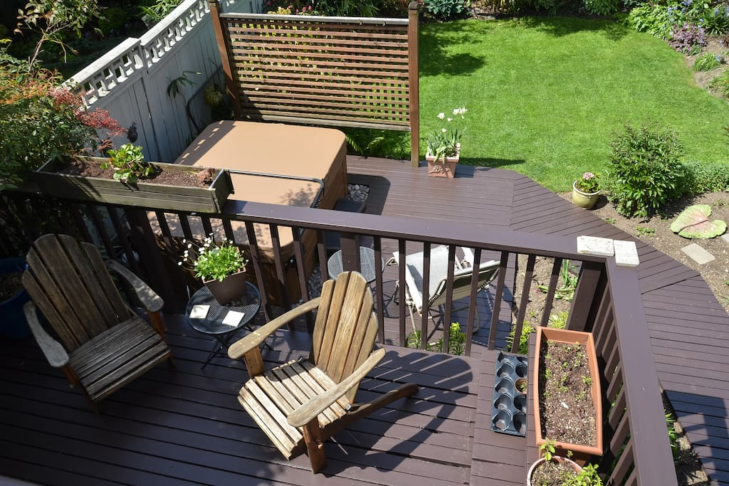 There are four decks, all accessible to our guests