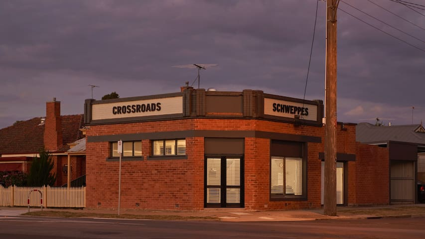 The old Crossroads Store Wangaratta