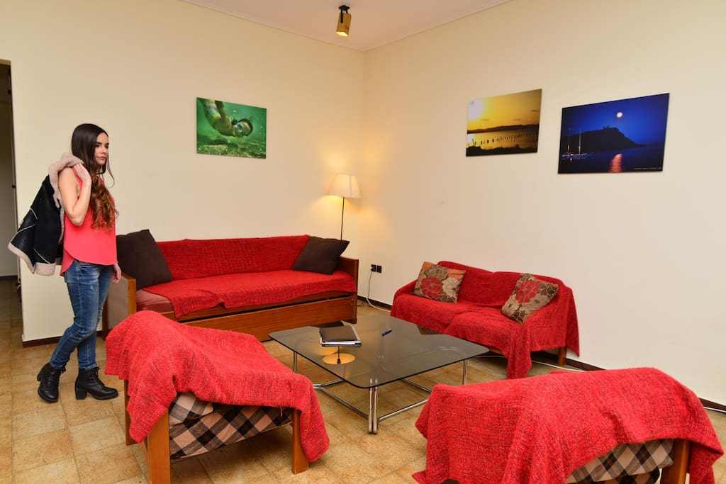 Last floor newly renovated apart. , spacious, ideal for a family or group of friends