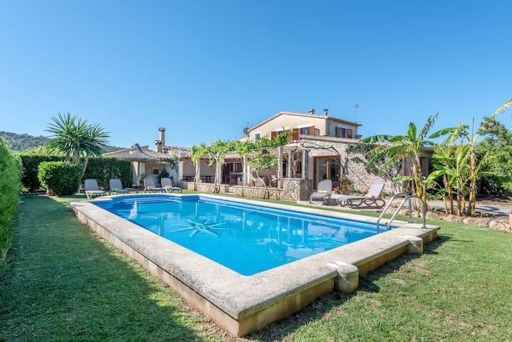 Immerso nella natura e con piscina - Villa La Sorteta De Cuxach