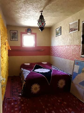 Room shower in the family berbere Bienvenus.4pers.