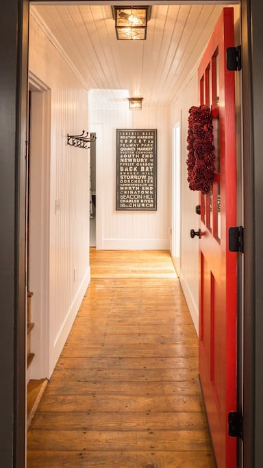 Private Entrance Hallway
