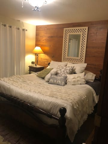Very spacious bedroom with a King bed!