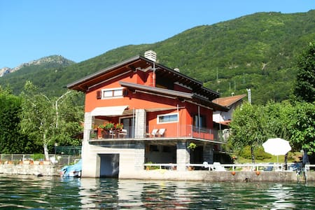 The house on the lake - Omegna