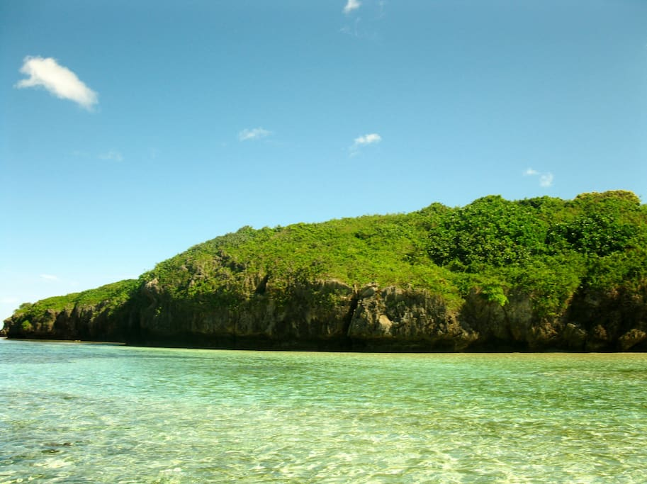 CRYSTAL CLEAR WATERS AROUND THE RESORT