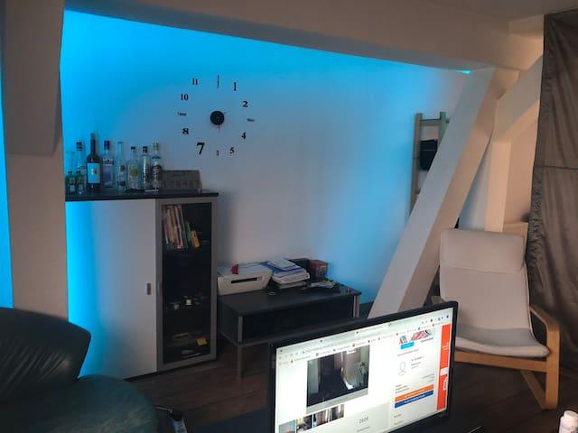 Dachgeschosswohnung Feel like you're at home!