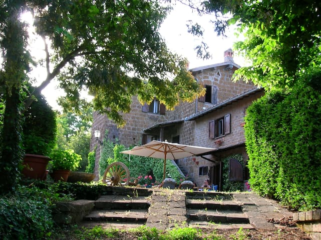 Country House surrounded by trees! - Sutri - Daire