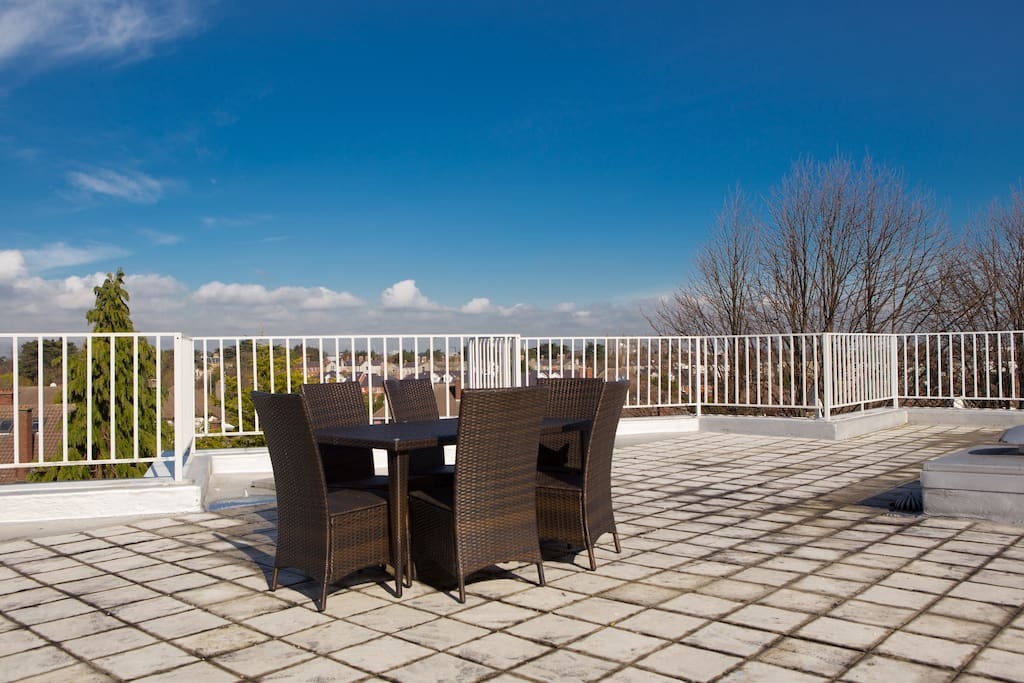 Roof Top Terrace with Amazing views