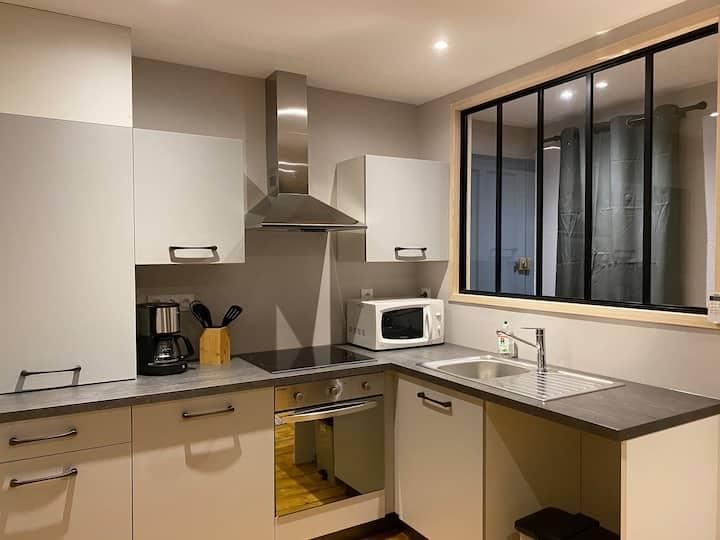 Appartement équipé au centre de Bletterans
