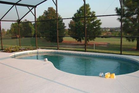 Luxury Orlando pool golf Disney  - Haines City - Hús