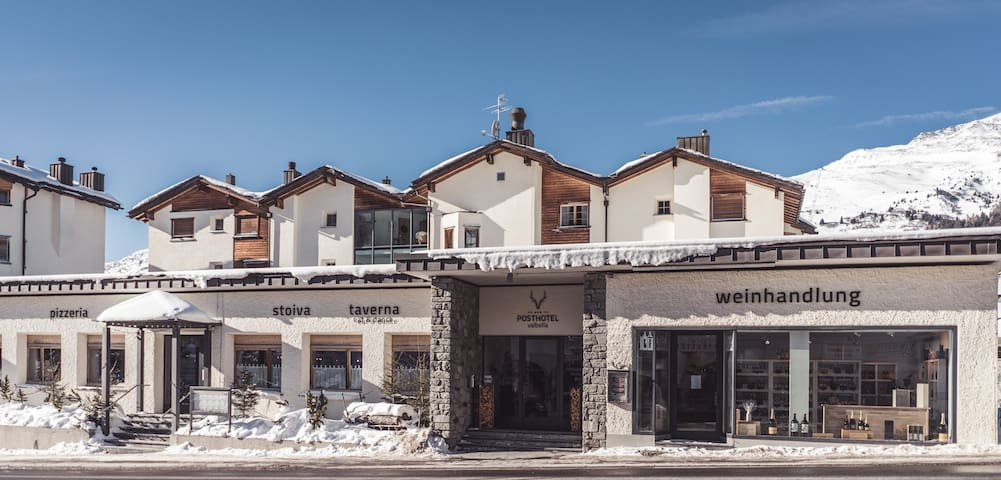 Fern von Zuhause in Valbella