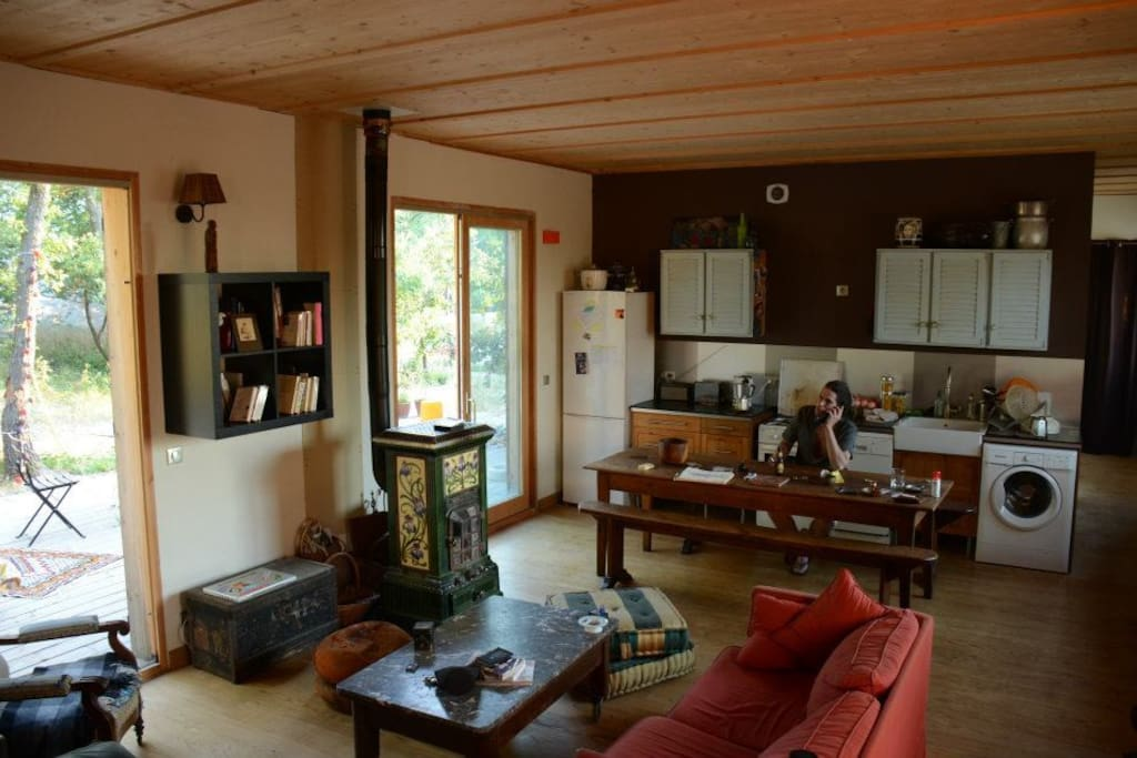 Maison en bois 90m2 près AixenPce  Maisons organiques à louer à Fuveau, Pr
