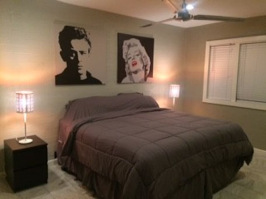 James and Marylin Bedroom
