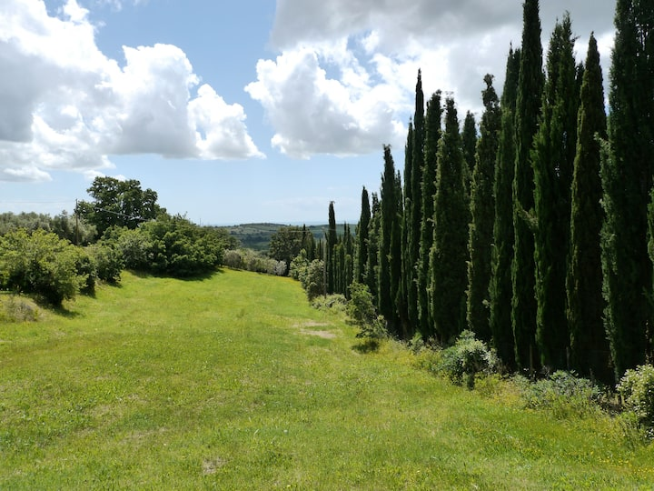Capalbio country home great views