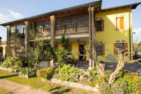 Casa algisa con giardino di Aloe - Montegrotto Terme - Hus