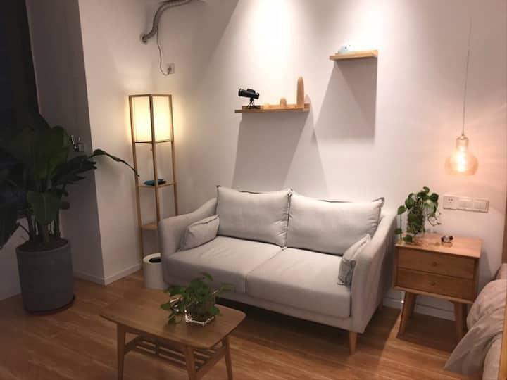 武里山天街超温馨日式单身公寓超赞精装修