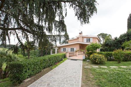 Rome - Villa in beautiful park Blue room - Antico Lazio-codette